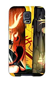 Hot Design Premium PhuINYb11324CGtfW Tpu Case Cover Galaxy S5 Protection Case(naruto Konohamaru Moegi Udon)