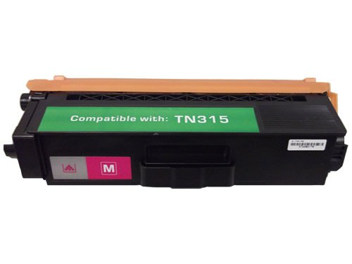 Magenta Compatible TN315 Laser Toner Cartridge for Brother Printers MFC 9460CDN 9560CDW 9970CDW HL 4150CDN 4570CD 4570CDWT, Office Central