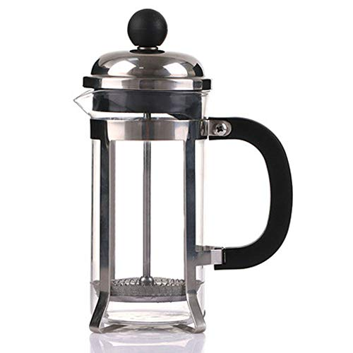 Coffee Maker Stovetop Espresso Machine Coffee Pot Moka Pot French Press and Filter System Hand-Washing Household Coffee Appliances 600/800 ML,B