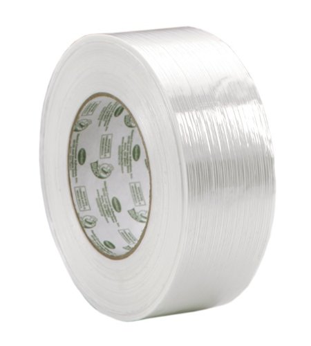 Duck Brand Heavy Duty Filament Reinforced Strapping Tape, 1.88 Inches x 60 Yards, 24 Rolls (393199) by Duck