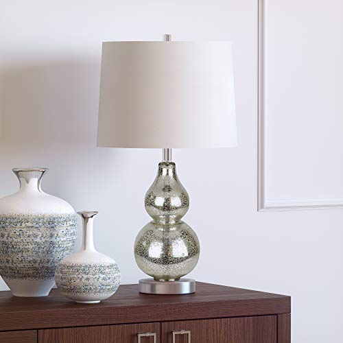 - Henn&Hart TL0046 Luminary Mercury Glass Lamp, One Size,