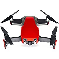 Wrapgrade Poly Skin for DJI Mavic Air   Unit A: Colored Parts and Rear Trim (SUPER RED)