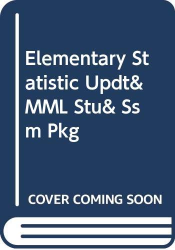 Elementary Statistic Updt& MML Stu& Ssm Pkg