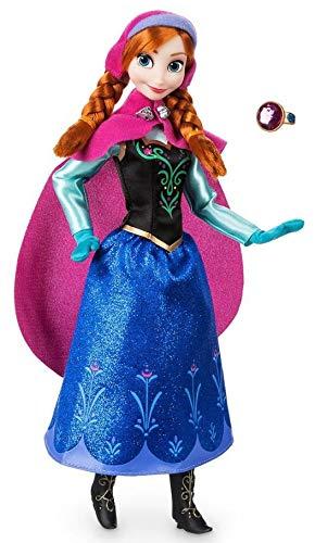 Boneca Clássica Ana com Anel - Princesas Disney - Frozen