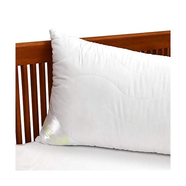 Beautissu Oreiller pour dormeur sur Le côté BeauNuit SK – Traversin Ergonomique Hypoallergénique – Coussin de Grossesse…
