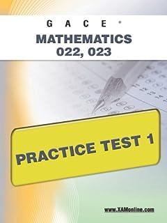 amazon com georgia gace high school math assessment 022 023 w rh amazon com High School Students Studying For High School Geometry Worksheets