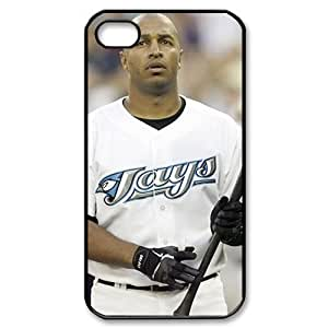 MLB iPhone 4,4S White Toronto Blue Jays cell phone cases&Gift Holiday&Christmas Gifts NADL7B8824173