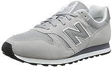 New Balance 373 Core, Zapatillas Bajas para Hombre, Gris (Grey), 44 EU