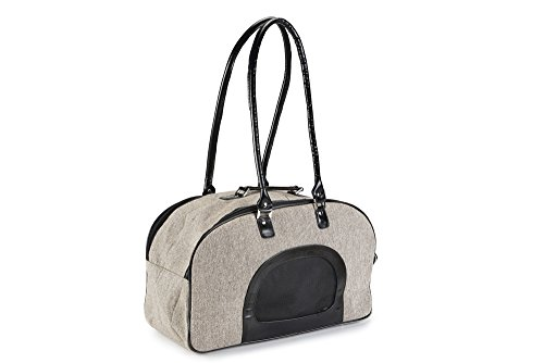Beeztees Shoulder Bag, 43 x 19 x 26 cm, Tweed