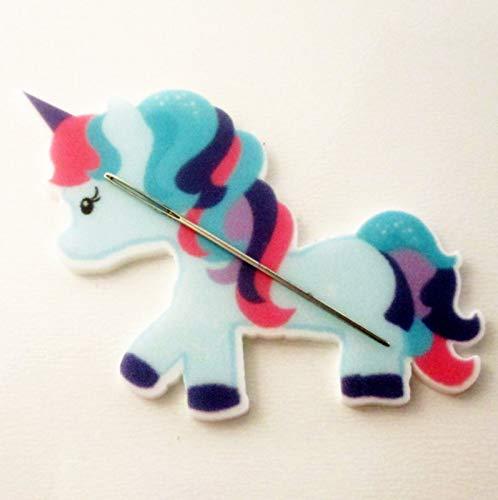 Unicorn Pony Resin Needle Minder, Hand Needle Notion