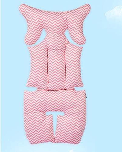 Rose Poussette Coussin Soutien B/éb/é Accessoires pour Poussette en Coton pour B/éb/é Double Face Coussin de si/ège pour Poussette Enfants Prime Day