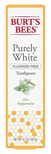 Burts Bees Toothpaste Purely White 4.7 Ounce Zen Peppermint