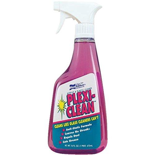 Plexi-Clean Acrylic & Plastic Cleaner Acrylic Trigger Spray 16 Oz