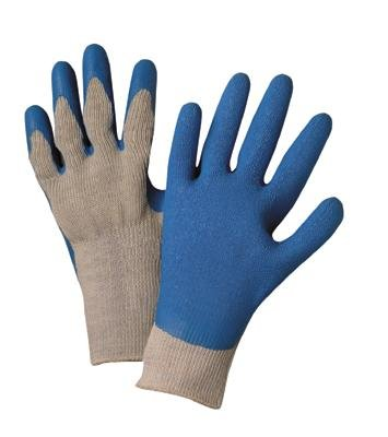 Radnor Large Heavy Duty Rubber Palm Coated String Knit Gloves