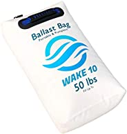 WAKE 10 Boat Ballast Bag - Portable and Pumpless - 50 lb. - Wakesurfing and Wakeboarding - USA Company