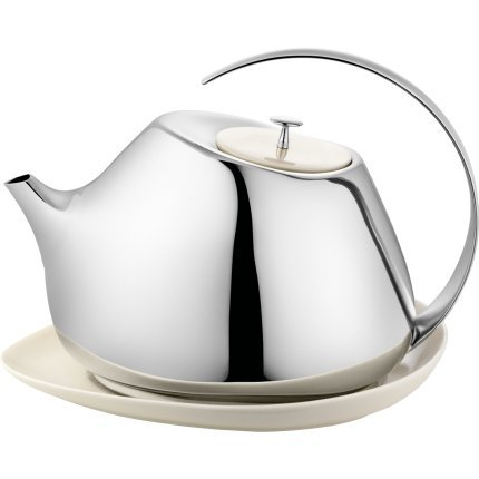 Georg Jensen HELENA teapot with coaster, 1,3 L