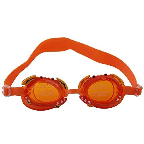 aux OGOBVCK uv fini lunettes fish lens Orange protection lunettes avec enfants petit miroir v1vqpw