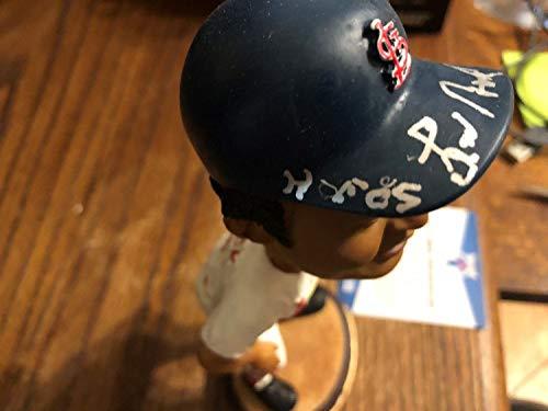 Lou Brock Hall of Fame Autographed Signed Memorabilia Bobblehead Sga 2004 St Louis Cardinals Beckett Ip COA