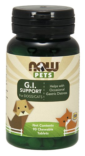 NOW Pets G.I. Support, 90 Chewable Tablets
