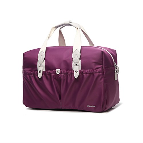 Bolsa para mamá Cruz diagonal - Paquete Paquete madre Paquete para mujeres embarazadas de gran capacidad Paquete maternal para paquetes ( Color : Khaki ) Purple