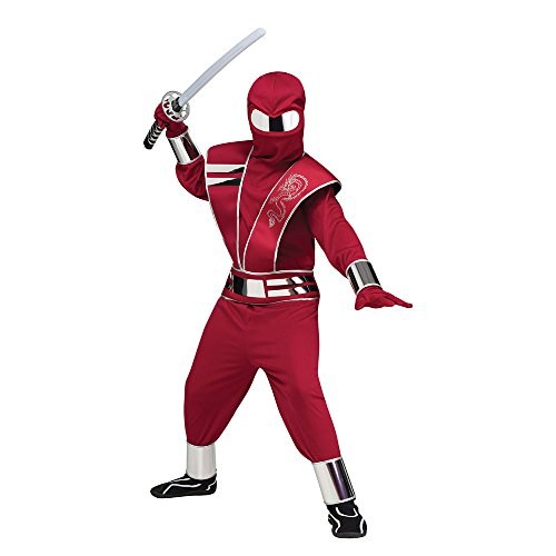 Red Mirror Ninja Costume Small