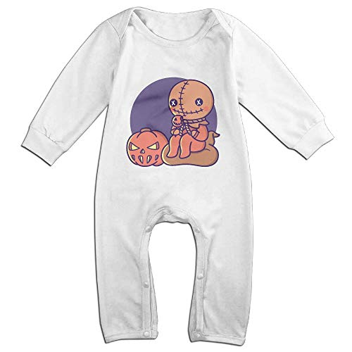 OPQRSTQ-O Trick 'r Treat Infant Baby Girl Boys Long-Sleeved Printed Playsuit Outfit Clothes