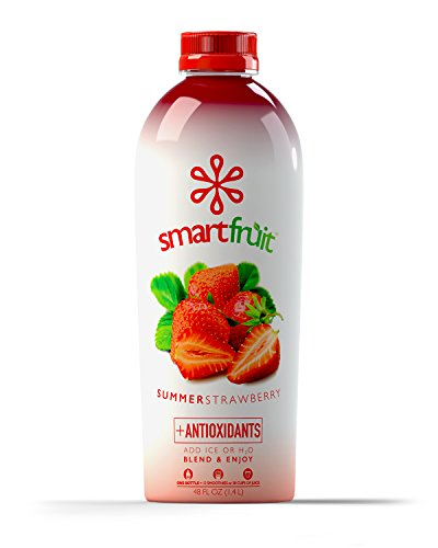 Smartfruit Summer Strawberry, All Natural 100% Fruit Smoothie Mix, No Added