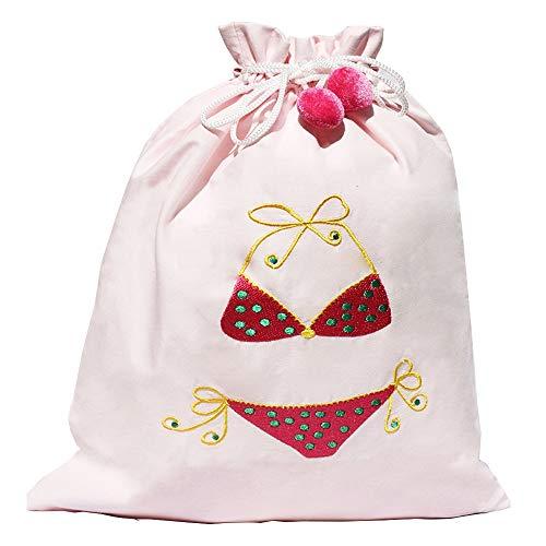(Wet Bag Travel Pink Bikini Bag)