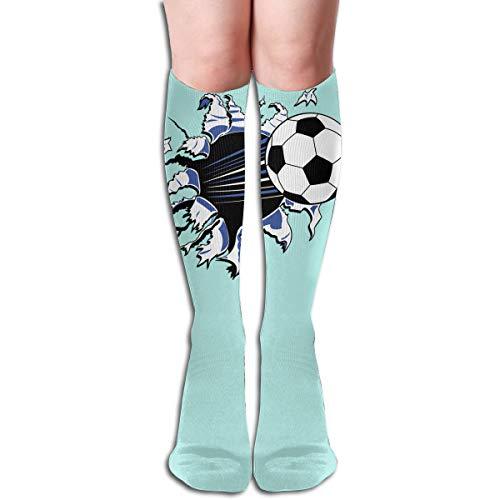 Tube High Keen Sock Boots Crew Soccer Football Compression Socks Long Sport ()