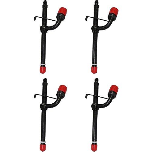 AR89564 Four (4) Fuel Injectors For John Deere JD 1140 1520 1530 2020 2030 2350 John Deere Fuel Injector