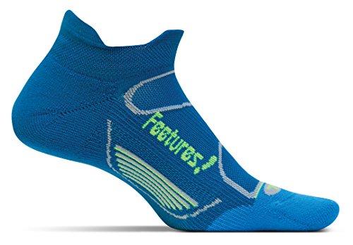 Feetures! Elite Light Cushion No Show Tab Sock - Pacific Blue/Reflector Medium