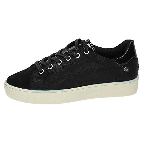 XTI femme de Chaussures Noir sport rqfraS