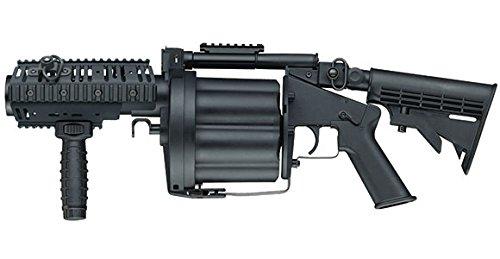 ICS MGL グレネードランチャー S BK ブラック (JP Ver.) ICS-193 B074J3QGKZ