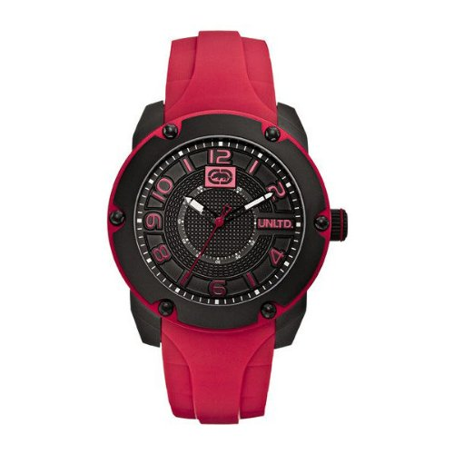 Marc Ecko Men's Watch Quartz Analogue silicone E12527G1