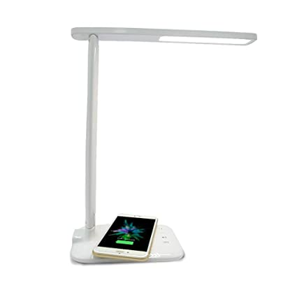 Amazon Com Wireless Charging Led Desk Lamp Qi Charger For Iphone X