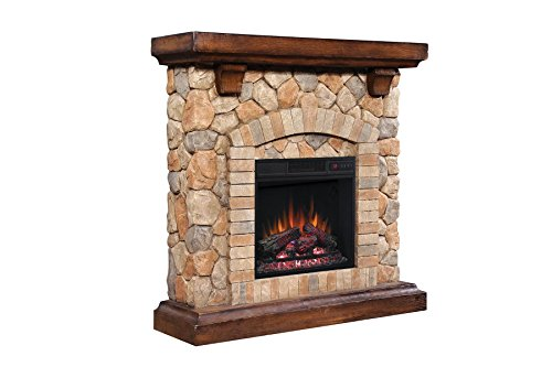 Classic Flame Tequesta Wall Mantel with 18