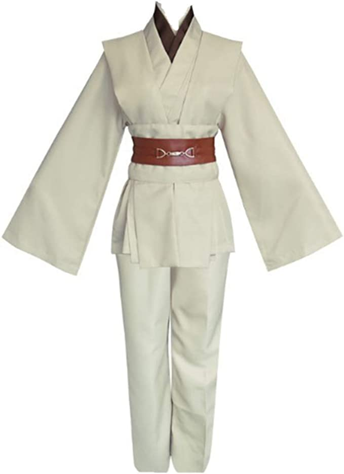 Star Jedi Knight Ropa de Star Disfraz de película para Adultos ...