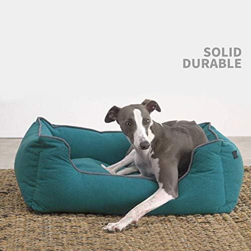 犬猫ソファベッド、 犬のベッドクッション屋内/通気性の綿の中大小犬と猫のためのカバー/耐久性のあるオックスフォード布/ 4サイズ/ (Size : XL)
