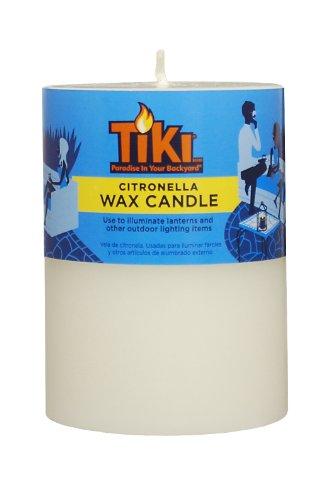 "TIKI Brand Citronella Pillar Candle (1) - 3x4"""