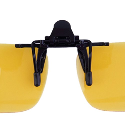 en Lentes nocturna UV Visión Unisex de clip para de con Gafas Cool Clip sol de y la sol mujeres 400 Anti lente conducción hombres abatibles XwU6Udxq