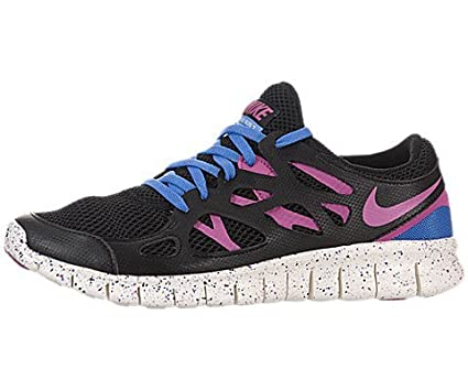 pretty nice 1302d 673b7 Nike Free Run 2 EXT Women Laufschuhe black-clear pink-distinct blue-summit  white - 36,5  Amazon.co.uk  Clothing