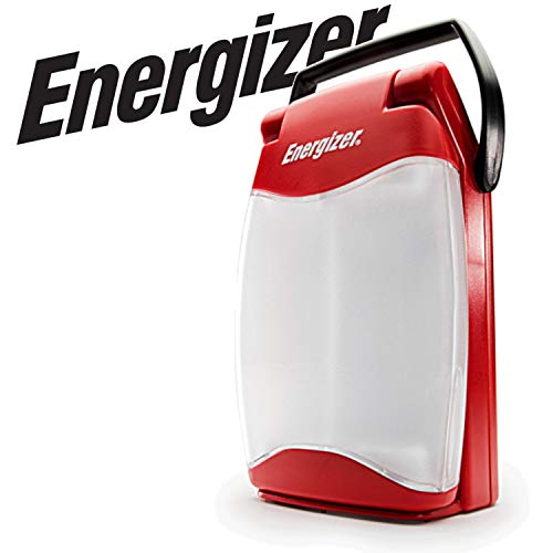 Energizer Waterproof LED Lantern, Weatheready Folding Light, 350 Hour Run Time, 500 Lumens -