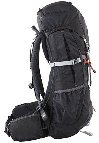 CAMPZ Mountain Pro 42L Rucksack schwarz 2017 outdoor-rucksack