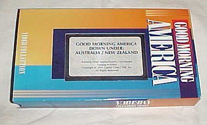 Good Morning America Down Under: Australia / New Zealand VHS
