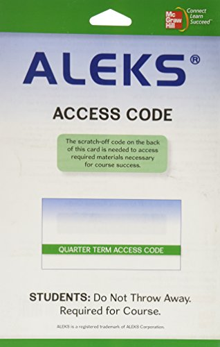 Aleks Users Gde. Quarter Term(New Only)