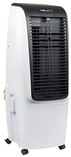 Portable Evaporative Air Swamp Cooler and Tower Fan, 600 CFM, 650 Square Foot Cooling, White - NewAir EC300W
