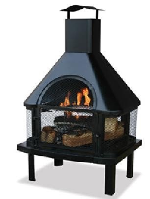 Napels chimenea, patio and garden oven, patio fireplace, fire pit for the garden, fire basket SenS-Line
