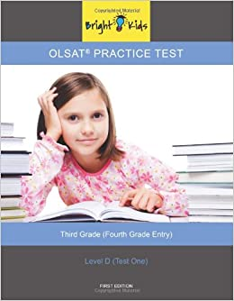 Olsat Practice Test Level D 4th Grade Entry Bright Kids Nyc