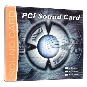 C-Media CMI8738 4-Channel PCI Sound Card