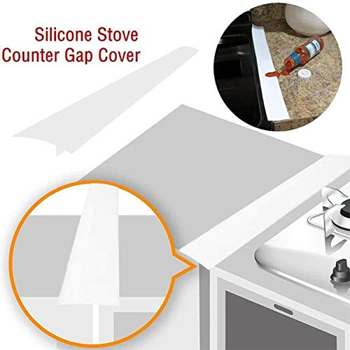 Other Cookware Parts - 1pcs Silicone Stove Counter Gap Cover Heat Resistant Wide Long Filler Seals Spills Between - Stove Stove Cover Cover Silicon Cash China Silicon Register Counter Cu